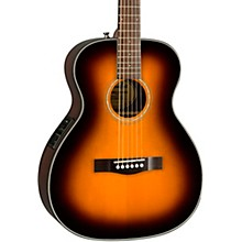 CT-140SE with Case Travel Acoustic-Electric Guitar Natural Sunburst