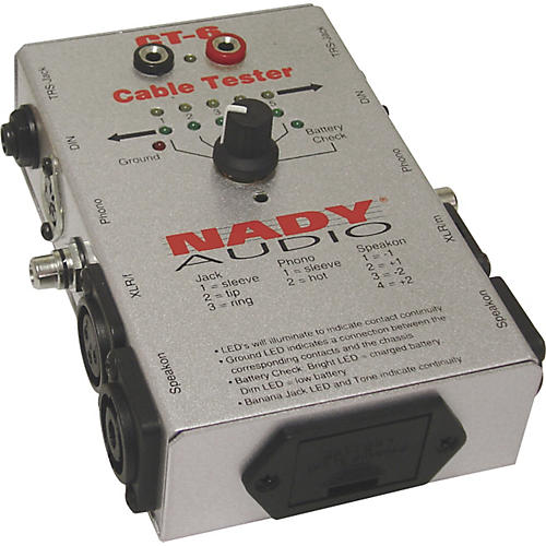 Nady CT-6 6-Way Cable Tester