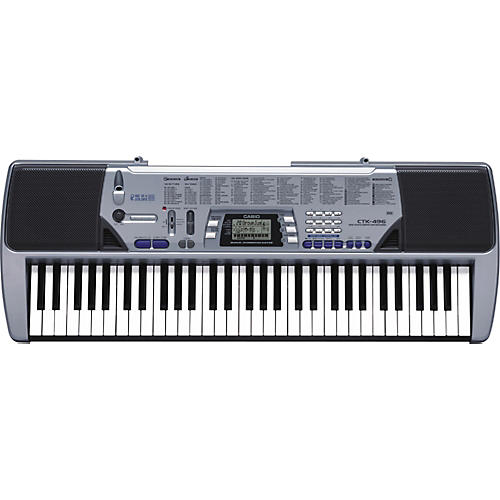 Casio CTK-496 61-Key Portable Keyboard