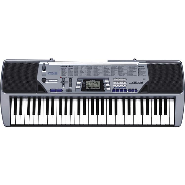 CasioCTK-496 61-Key Portable Keyboard