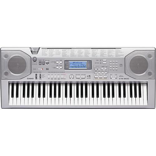 Casio CTK-800 61-Key Portable Keyboard
