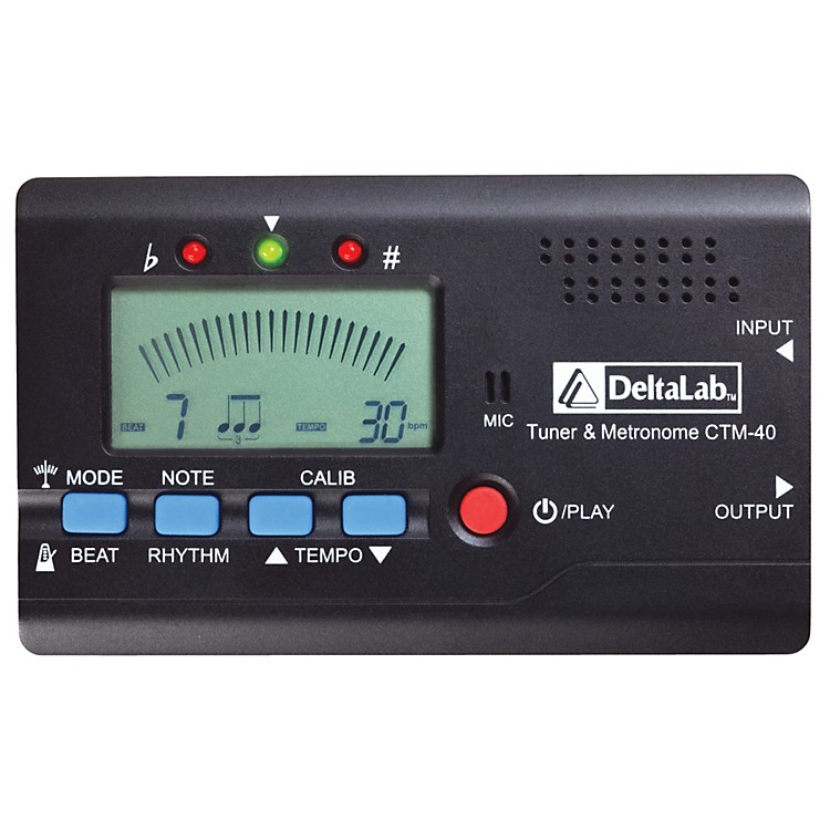 DeltaLabCTM-40 Tuner and Metronome