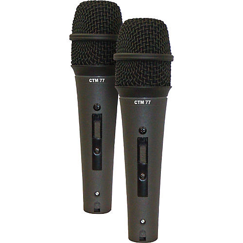 Astatic by CAD CTM-77LS Condenser Mic - Buy Two and Save!-thumbnail