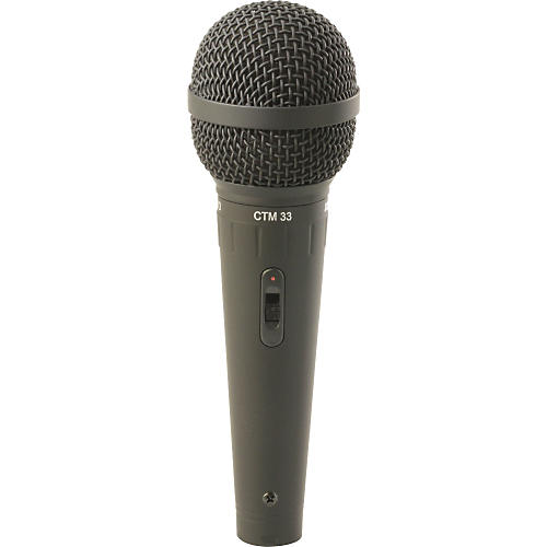 Astatic by CAD CTM33 Handheld Cardioid Dynamic Mic with Switch