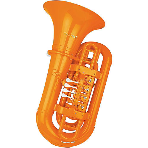 Cool Wind CTU-200 Series 4-Valve BBb Tuba Orange