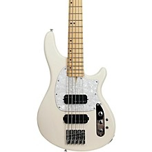 Schecter Guitar Research CV-5 Bass 5-String Electric Bass Guitar Ivory