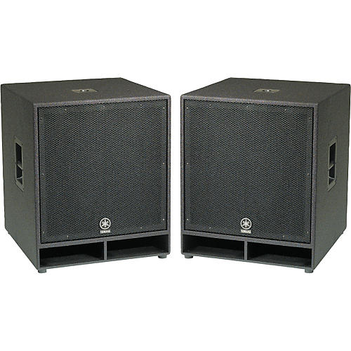 Yamaha cw118v 18 in club concert series subwoofer pair for Yamaha club subwoofer