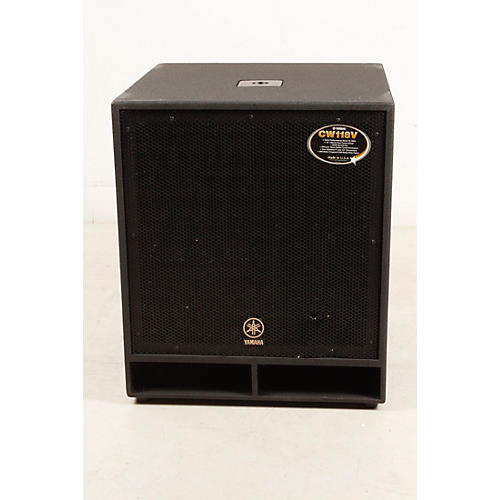 Open box yamaha cw118v 18 in club concert series for Yamaha club subwoofer
