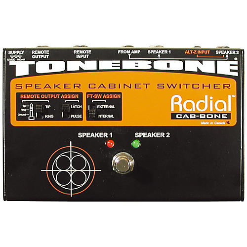 Radial Engineering Cab-Bone Speaker Cabinet Switcher