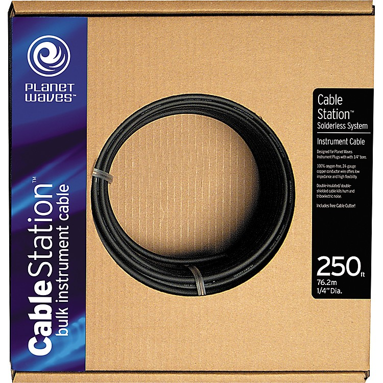 Planet Waves Cable Station 250' Bulk Instrument Cable