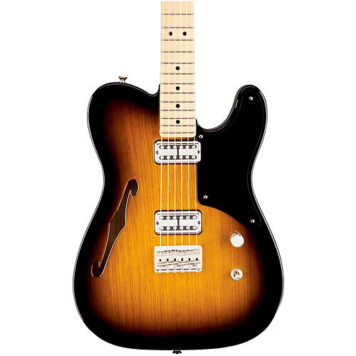Fender Cabronita Telecaster Thinline, Maple Fingerboard 2-Color Sunburst Maple Fingerboard