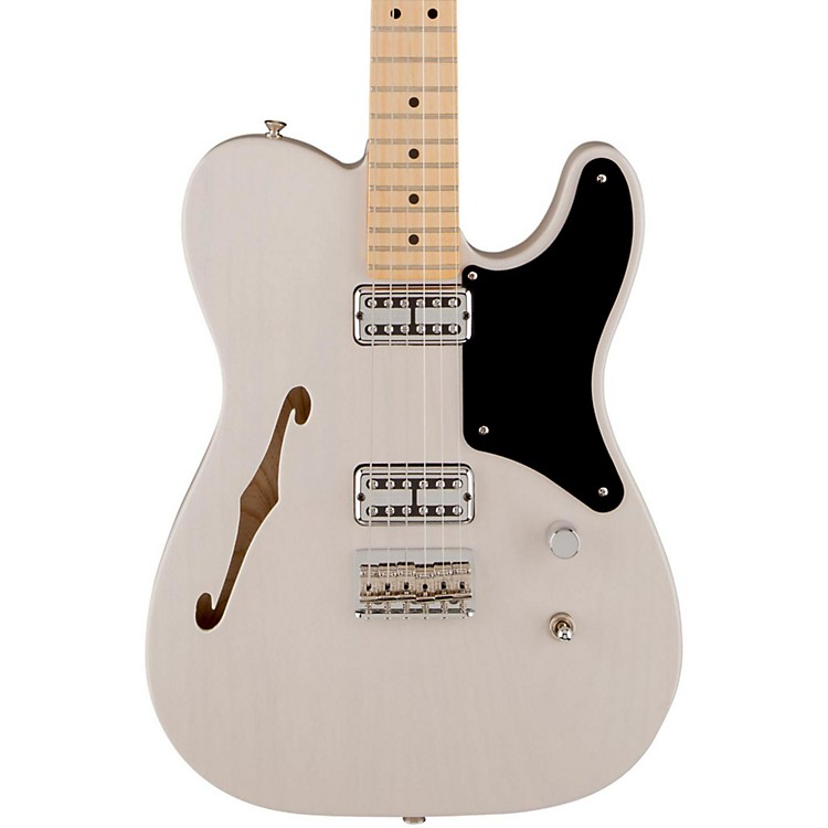 Fender Cabronita Telecaster Thinline, Maple Fingerboard White Blonde Maple Fingerboard