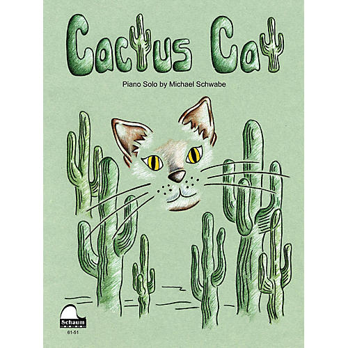 SCHAUM Cactus Cat Educational Piano Series Softcover-thumbnail