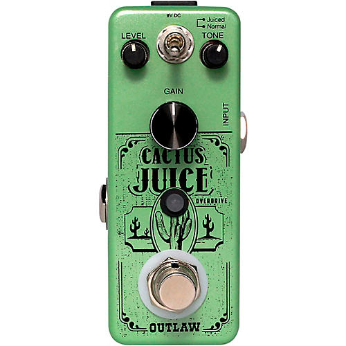 Outlaw Effects Cactus Juice Overdrive Effects Pedal