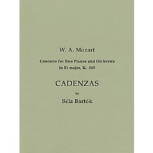Bartók Records and Publications Cadenzas to Mozart's Concerto for 2 Pianos and Orchestra in E Flat Major, K. 365 Misc by Béla Bartók