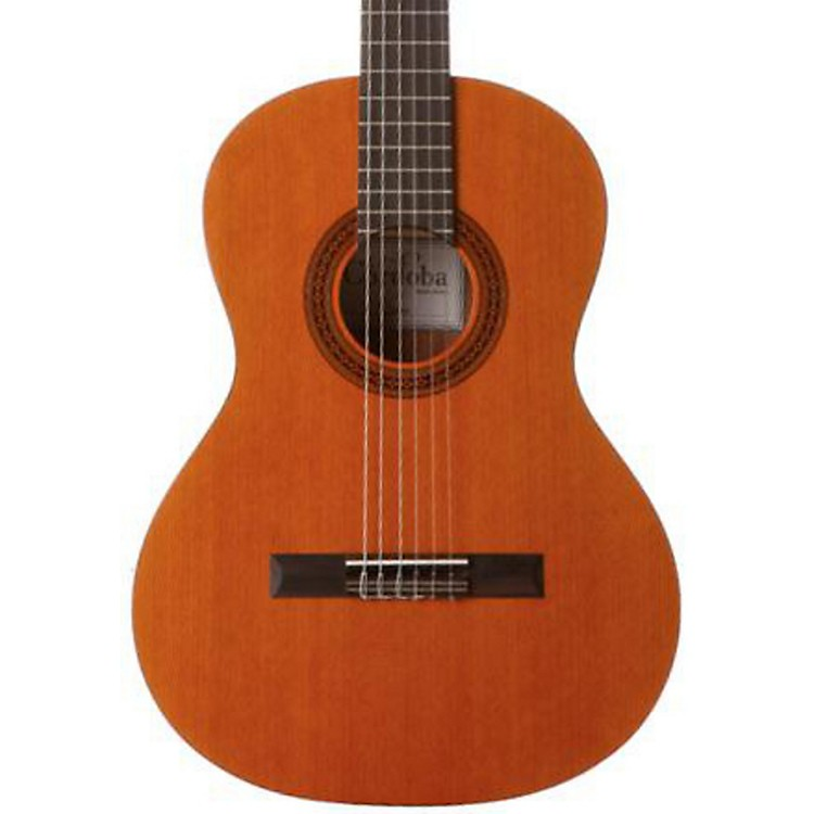 CordobaCadete 3/4 Size Acoustic Nylon String Classical GuitarNatural