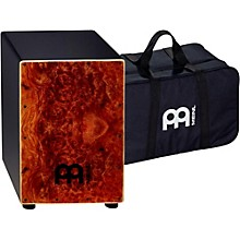 Meinl Cafe Cajon in Camphor Burl Finish with Free Gig Bag