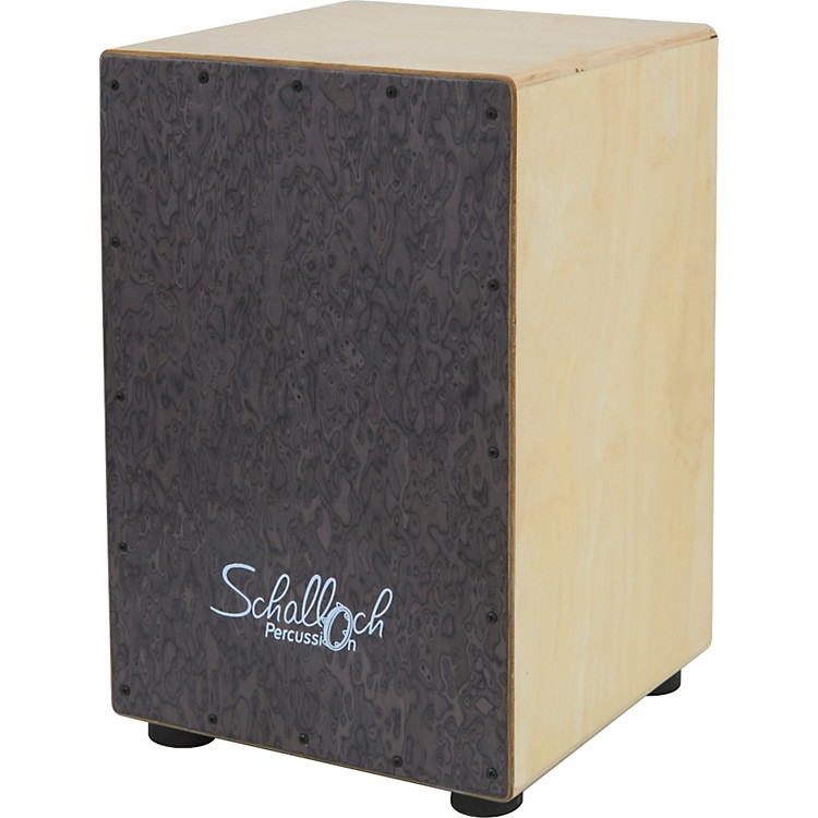 Schalloch Cajon with Burl Wood Front