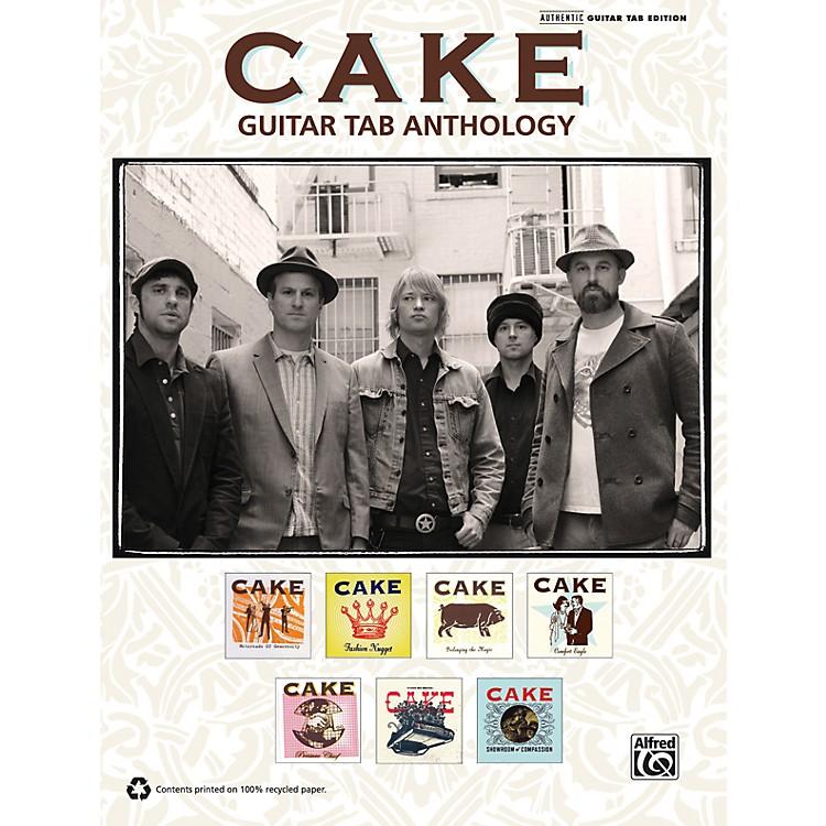 AlfredCake - Guitar TAB Anthology Book