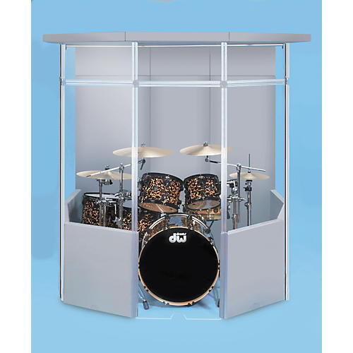 Cal-Mil Cal-Mil Sound Reduction Booth with Rear Lid-thumbnail