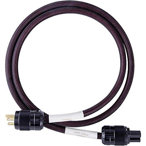 Lava Caldera Power Cord w/ Wattgate IEC320/Straight Blade 6 ft. Black