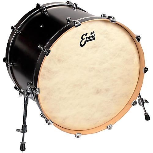 evans calftone bass drum head 20 in musician 39 s friend. Black Bedroom Furniture Sets. Home Design Ideas