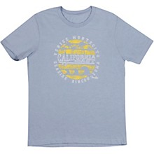 Fender Cali Coastal Yellow Waves Men's T-Shirts