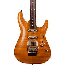 Schecter Guitar Research California Classic 6-String Electric Guitar Transparent Amber