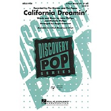 Hal Leonard California Dreamin' 3-Part Mixed by The Mamas and The Papas arranged by Roger Emerson