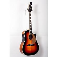 Fender California Series Kingman ASCE Cutaway Dreadnought Acoustic-Electric Guitar Level 2 3-Color Sunburst 888365770482