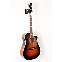 Fender California Series Kingman ASCE Cutaway Dreadnought Acoustic-Electric Guitar Level 2 3-Color Sunburst 888365933467