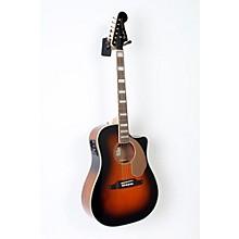 Fender California Series Kingman ASCE Cutaway Dreadnought Acoustic-Electric Guitar Level 2 3-Color Sunburst 888365935980