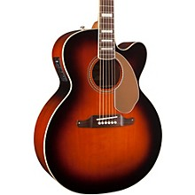 Fender California Series Kingman Jumbo SCE Cutaway Jumbo Acoustic-Elecric Guitar 3-Color Sunburst