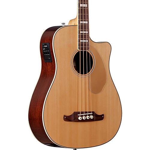 Fender California Series Kingman SCE Cutaway Dreadnought Acoustic-Electric Bass