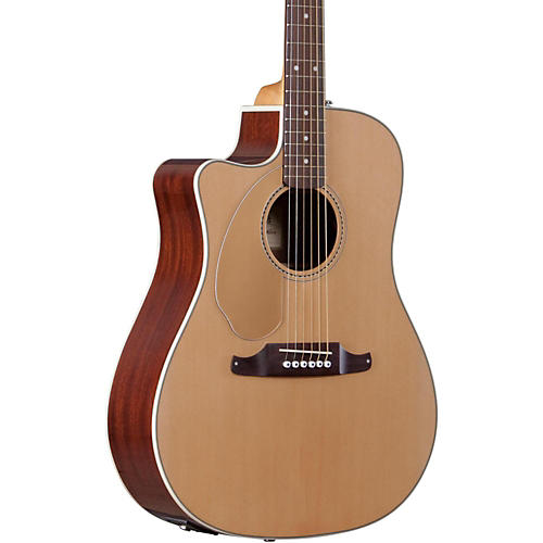 Fender California Series Sonoran SCE Cutaway Dreadnought Left-Handed Acoustic-Electric Guitar-thumbnail