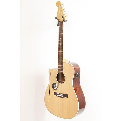 Fender California Series Sonoran SCE Left-Handed Dreadnought Cutaway Acoustic-Electric Guitar