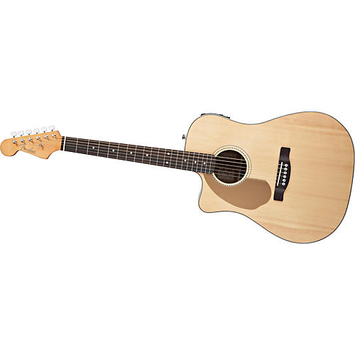 Fender California Series Sonoran SCE Left Handed Dreadnought Cutaway Acoustic Electric Guitar