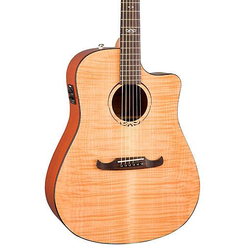 Fender California Series T-Bucket 400CE Cutaway Dreadnought Acoustic-Electric Guitar-thumbnail