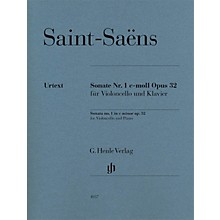 G. Henle Verlag Camille Saint-Saëns - Sonata No 1 in C min Op 32 Henle Music by Camille Saint-Saëns Edited by Peter Jost