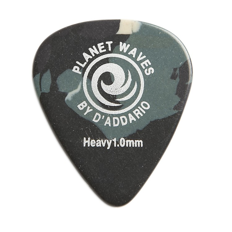 D'Addario Planet WavesCamouflage Celluloid Guitar PicksExtra Heavy100 Pack
