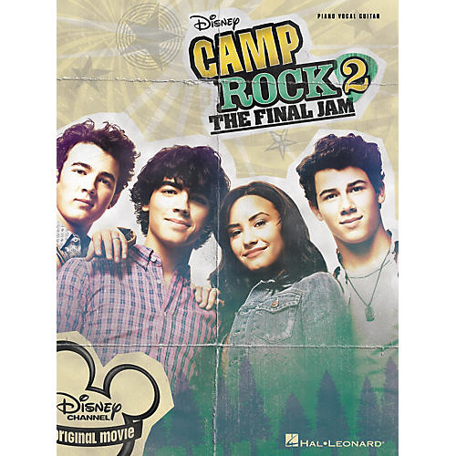 Hal Leonard Camp Rock 2 - The Final Jam PVG Songbook