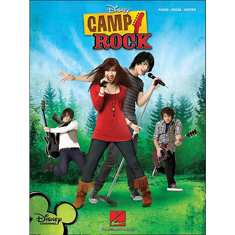 Hal Leonard Camp Rock arranged for piano, vocal, and guitar (P/V/G)