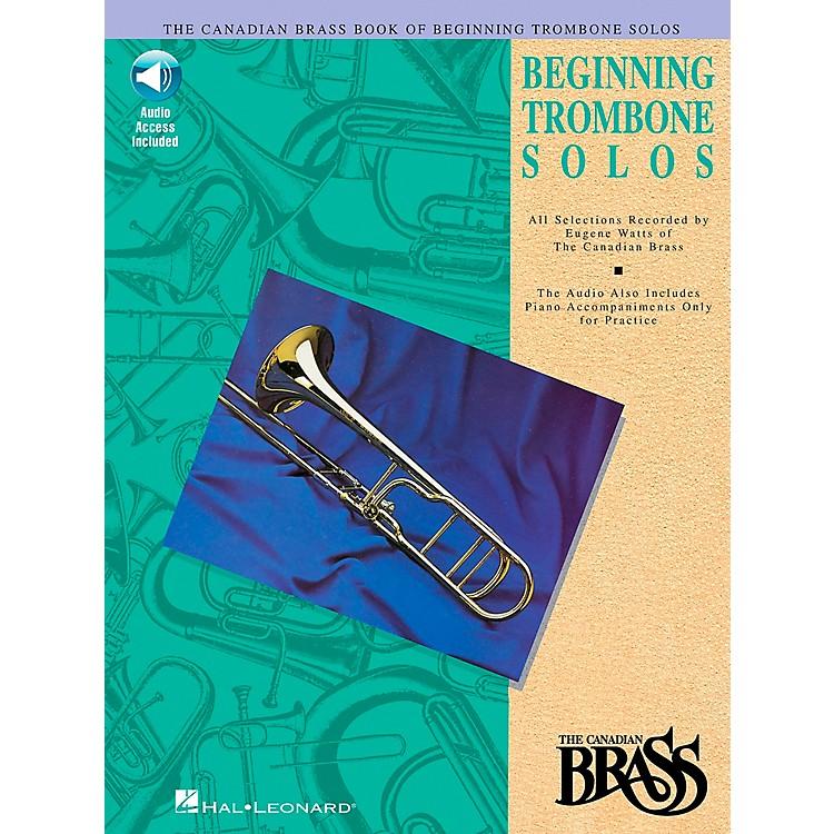 Hal LeonardCanadian Brass Beginning Trombone CD Package