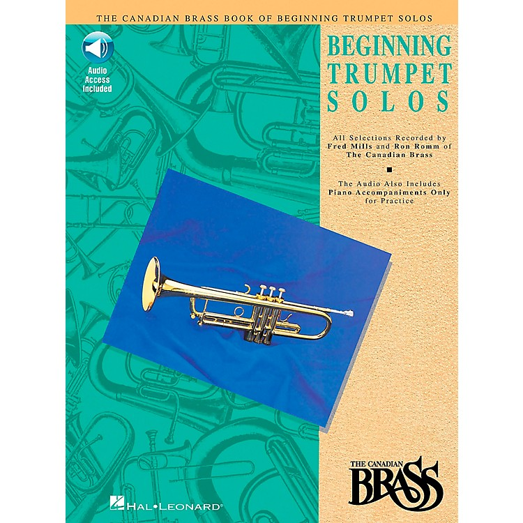 Hal Leonard Canadian Brass Beginning Trumpet Book/CD