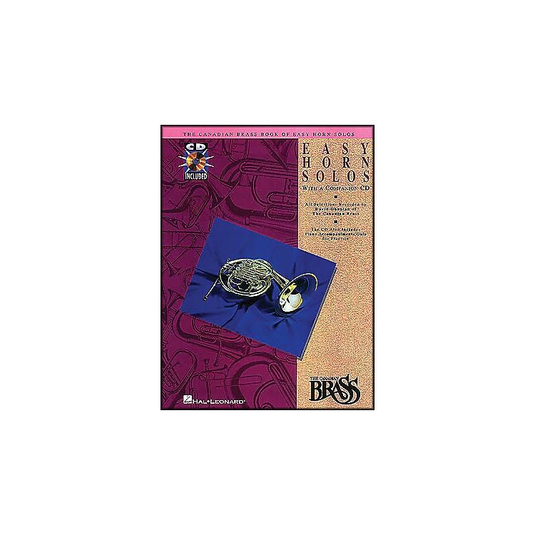 Hal LeonardCanadian Brass Book Of Easy Horn Solos Book/CD