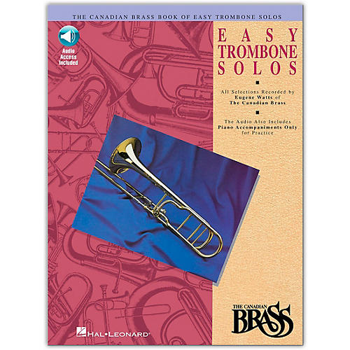 Hal Leonard Canadian Brass Easy Trombone CD Package