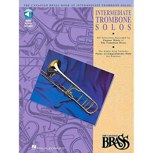 Hal Leonard Canadian Brass Intermediate Trombone Book/CD