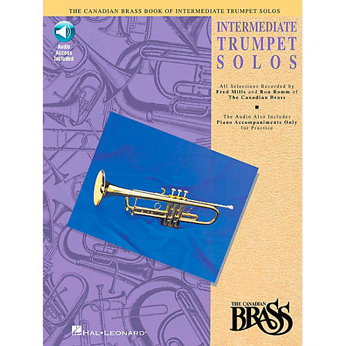 Hal Leonard Canadian Brass Intermediate Trumpet Solo Book/CD