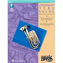 Hal Leonard Canadian Brass Intermediate Tuba Solo CD/Pkg