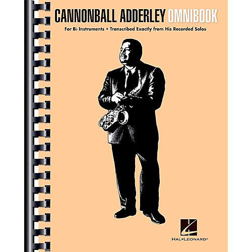 Hal Leonard Cannonball Adderley - Omnibook for B-Flat Instruments-thumbnail